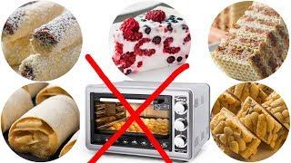 5 Десертов без выпечки за 15 минут! Никакой духовки не нужно!