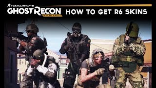 Ghost Recon Wildlands - How To Unlock Rainbow Six Icon Outfits/Costumes/Skins (Extended Ops Update)