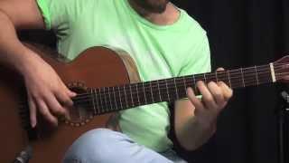 Cort CEC-5 Elektro Klasik Gitar Tanıtımı (Demo - English Subtitle)