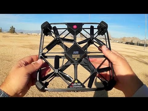 AEE Sparrow Position Hold Brushless FHD Selfie Drone Flight Test Review