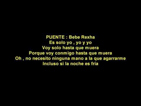 G-Eazy ft Bebe Rexha - Me , Myself & I español