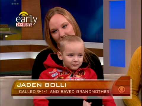 3-Year-Old Saves Grandmother