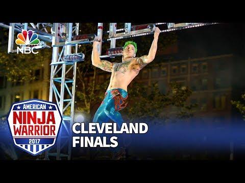 Jamie Rahn at the Cleveland City Finals - American Ninja Warrior 2017