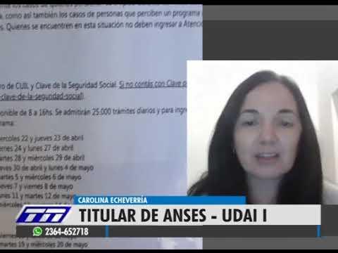 CAROLINA ECHEVERRÍA - TITULAR ANSES JUNIN