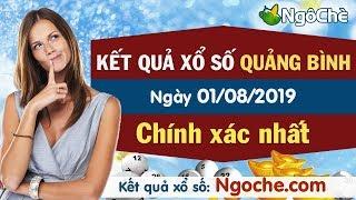 XS Quảng Bình 1/8/2019 - XSQB - Xổ số Quảng Bình thứ năm - Xổ số Quảng Bình ngày 1 tháng 8 năm 2019
