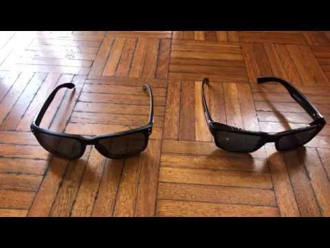 Oakley Holbrook genuine sunglasses  VS $5 cheap sunglasses  (  review )   2018