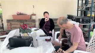 """שירים מהבית לימי קורונה: """"אדבר אתך"""" בביצוע דפנה תמיר ואריאל עציוני(1 סרטונים)"""
