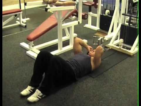 (Abs) Lying Cable Crunch Build Ab Muscles Using These Exercises.