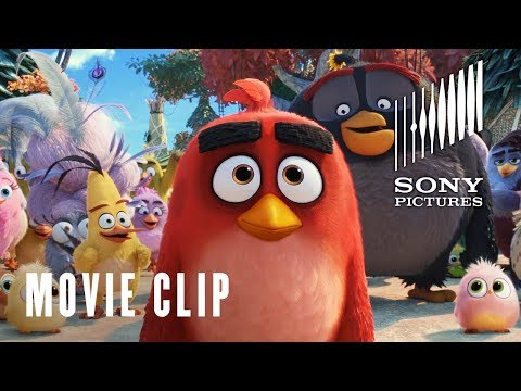 The Angry Birds Movie 2 - Sub Landing At Eagle Island Clip - At Cinemas Now
