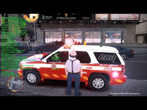 LCFD firefighter mod day2 - смотреть онлайн на Hah Life