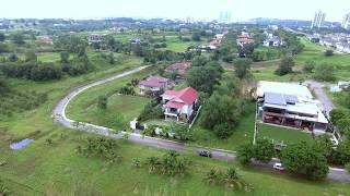 Birds eye view of Villa Cemara