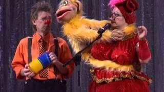"""Смешные клоуны. Чревовещание.""""Обезьянка"""""""