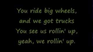 Big wheels by Down with Webster -Lyrics