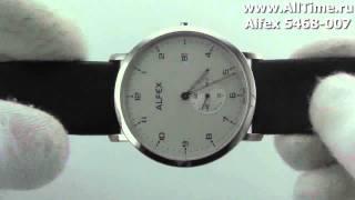 Мужские наручные швейцарские часы Alfex 5468-007