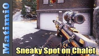 Sneaky Spot on Chalet - Rainbow Six Siege