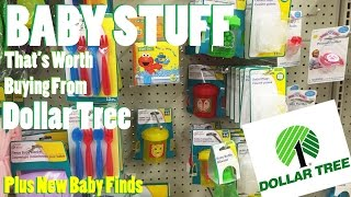 Baby Stuff At The Dollar Tree That
