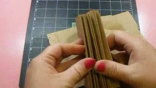 Requested Video - Paperbag Mini Album Assembly