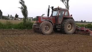 Fiatagri 180 90 Road Sound Transport Manure 2015 In Italy дом
