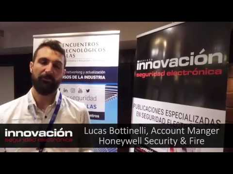 Lucas Bottinelli, Account Manager Honeywell Security & Fire