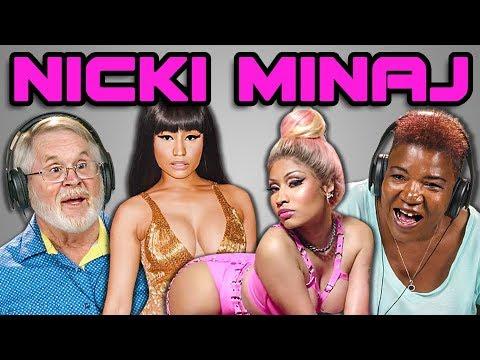 ELDERS REACT TO NICKI MINAJ (Barbie Dreams, Chun-Li, Bed and Ganja Burn)