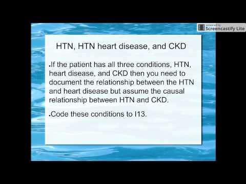 Standard Krankenhaus Behandlung von Hypertonie