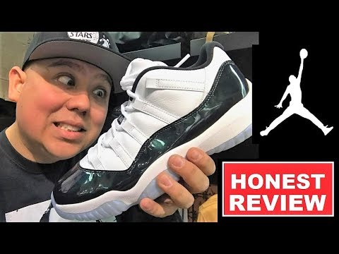 AIR JORDAN 11 XI EASTER EMERALD  LOW SNEAKER REVIEW - WATCH BEFORE YOU BUY THESE Mp3