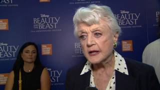 """Beauty and the Beast: Angela Lansbury """"Mrs. Potts"""" 25th Anniversary Interview"""