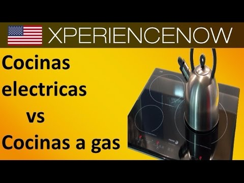 cocinas electricas vs cocinas a gas