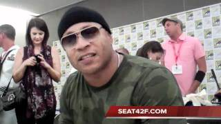 LL Cool J NCIS Los Angeles Comic Con 2011 Interview Clip