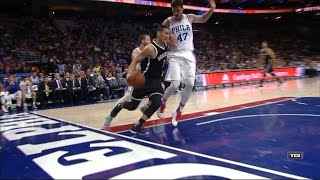 Jeremy Lin Highlights - 4/4/17 Nets at 76ers