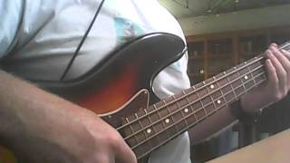 The Killers - Human (bass cover)