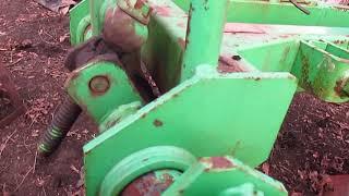 Механизм регулировки плуга BOMET и механизм крепления боронки.