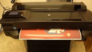 Hp Designjet T520 Wireless 24-in E-printer Part-I