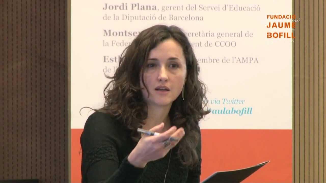 Elena Sintes - A les tres a casa? Del debat sobre la jornada contínua al debat sobre el temps escolar