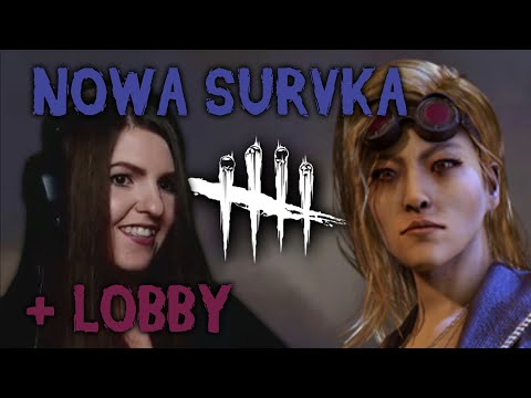 YUI: ADEPT NOWEJ SURVKI + BONUSOWE LOBBY - CURSED LEGACY DLC - DEAD BY DAYLIGHT