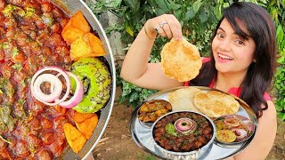 Indian Street Food | Chole Bhature #WithMe