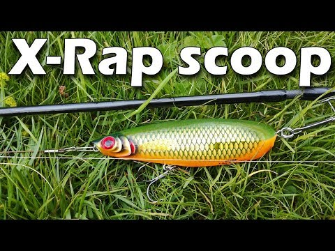 Воблер Rapala X-rap Scoop XRSCP14-OG фото №1
