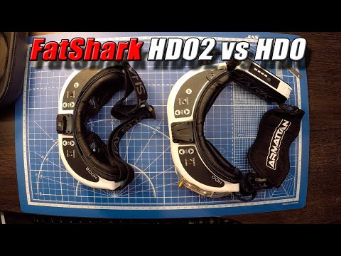 FatShark HDO2 vs HDO. Banggood.