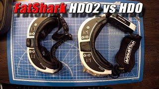 FPV очки FatShark HDO2 vs HDO. Banggood.