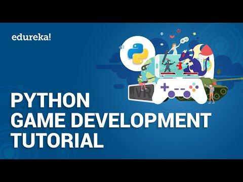Python Games Development Tutorial   Python Training   Edureka