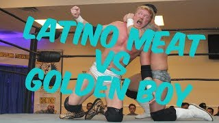 EWF - Pro Wrestling Match - Che Cabrera vs Golden Boy