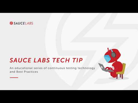 Tech Tip : Running Headless Tests Related YouTube Video