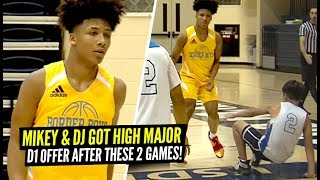 Mikey Williams & DJ Got D1 Scholarships After This Game!! Mikey JUST Turned 15!!