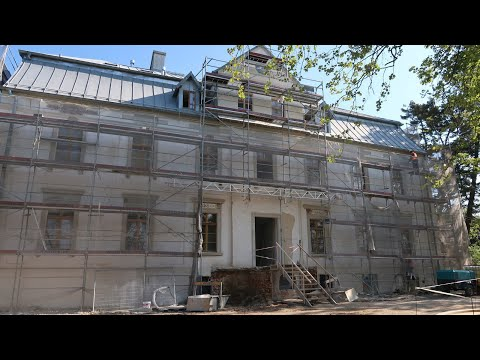 Wideo: Odbudowa zabytkowego pałacu w Suchej Górnej