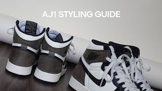 How To Style Air Jordan 1's / Easy & Neutral Outfits for Men & Woman