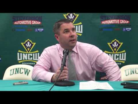Coach Pat Skerry Postgame Interview: UNCW (Feb. 23, 2017)