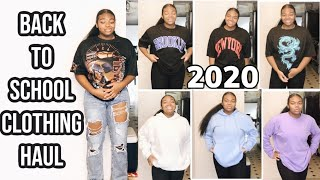Back To School Clothing Try On Haul 2020