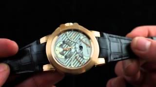 Harry Winston Ocean Triple Retrograde Chronograph Luxury Watch Review