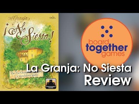 La Granja: No Siesta Review - Board Together Games