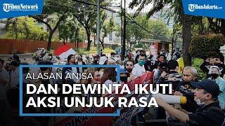Minta PSBB untuk Dicabut, Alasan Anisa Bahar dan Dewinta Bahar Ikuti Aksi Unjuk Rasa di DPRD DKI